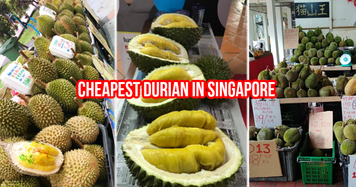 Where to get your durians: a list of over 40 durian sellers in