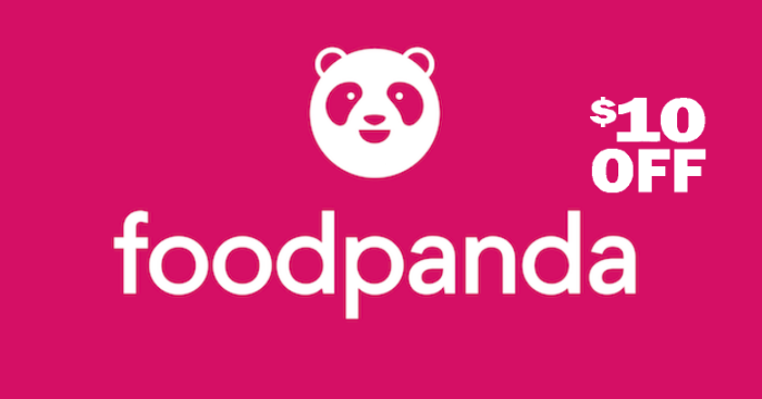 Here's a $10 off foodpanda promo code for use for till end of June