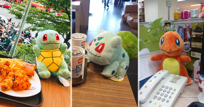 Lotteria Vietnam giving free Pokémon plushies with every