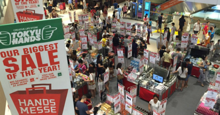 Tokyu Hands to hold their biggest sale of the year,