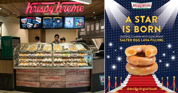 Krispy Kreme to launch new Salted Egg Original Glazed