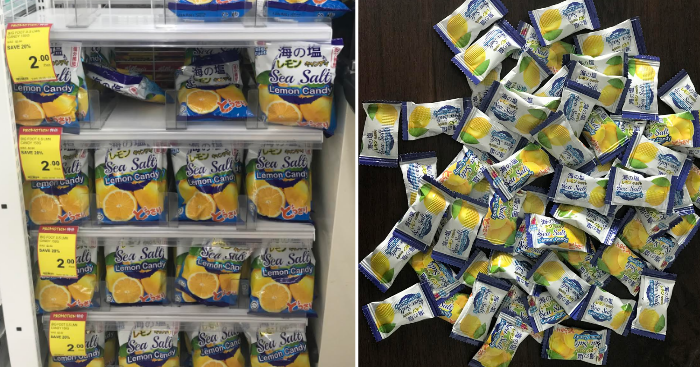 Big Foot Sea Salt Lemon Candy now available at Giant
