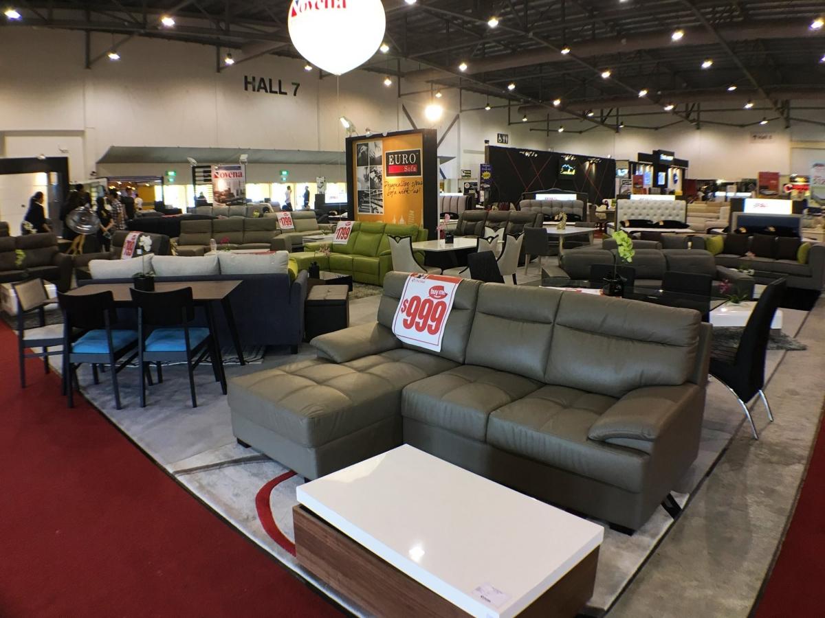 Asia Pacific Furniture Fair To Run The Biggest Furniture Fair At Singapore Expo Till 26 Mar