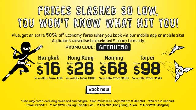 Scoot Promotion 111214