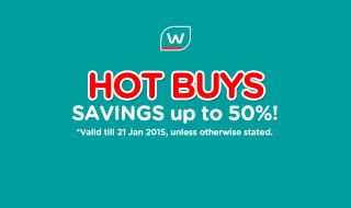 Watsons Promotion 150115