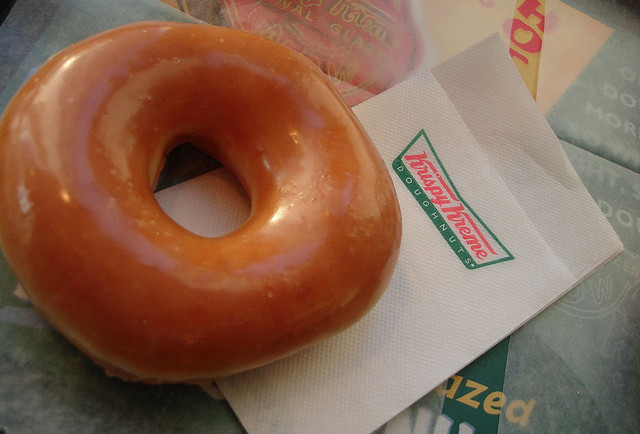 Krispy Kreme Original Glazed Donut