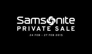 Samsonite Private Sale