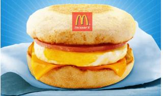 McDonald Egg McMuffin National Breakfast Day