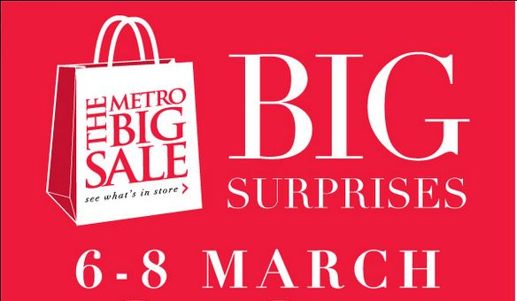 The Big Metro Sale
