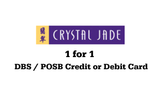 Crystal Jade 1 for 1