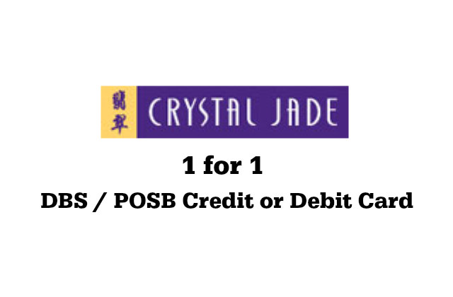 Crystal Jade 1 for 1
