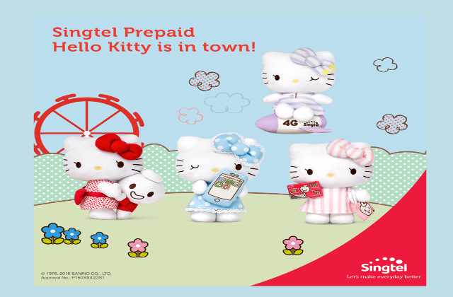 Singtel Hello Kitty