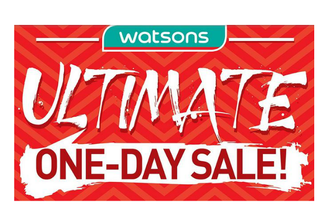 Watsons One Day Sale