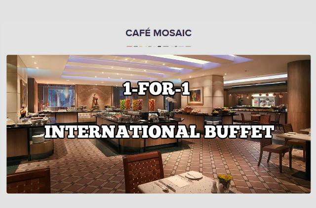 cafe mosaic buffet