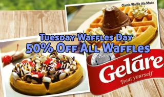 Gelare Waffles Day