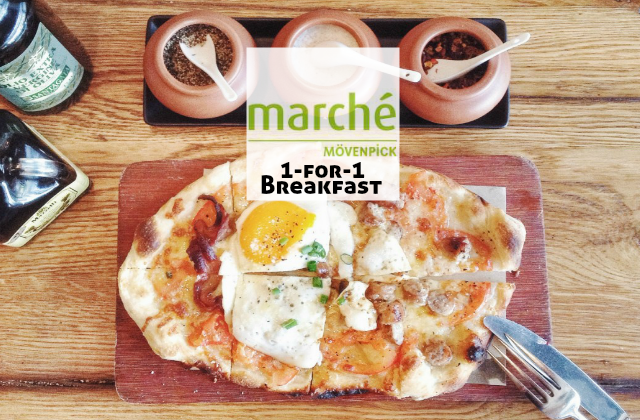 Marche Movenpick 1 for 1 Breakfast