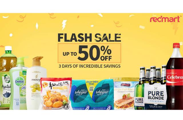 Redmart Flash Sale Featured