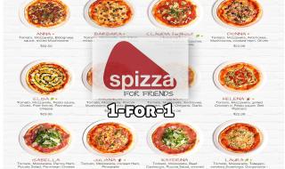 Spizza 1 for 1
