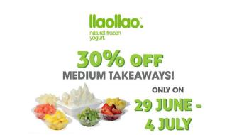 llaollao frozen takeaway