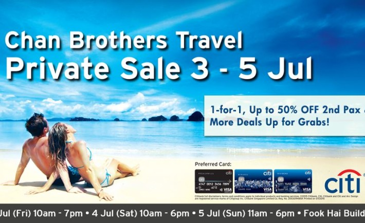 Chan Brothers Travel Private Sale