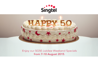 Singtel Happy 50
