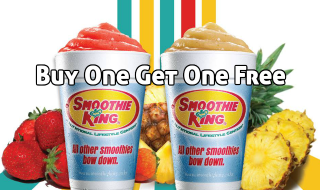 Smoothie King Buy One Get One Free