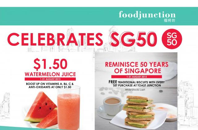 Food Junction SG50