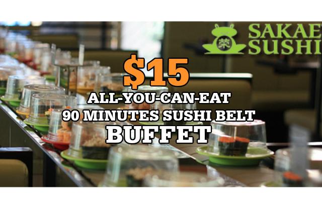 Sakae Sushi 15 Buffet