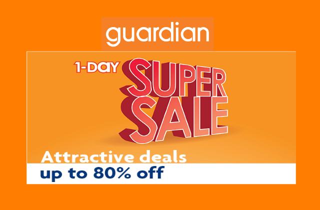 Guardian 1 Day Super Sale