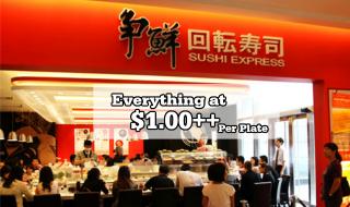 Sushi Express Opening Promo