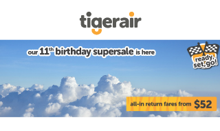 Tigerair 52 Sale