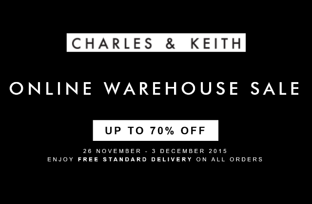 Charles & Keith Online Warehouse Sale