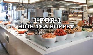 Marriot Cafe High Tea Buffet