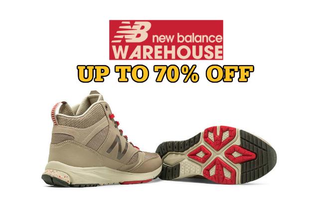 New Balance Warehouse Sale 2015