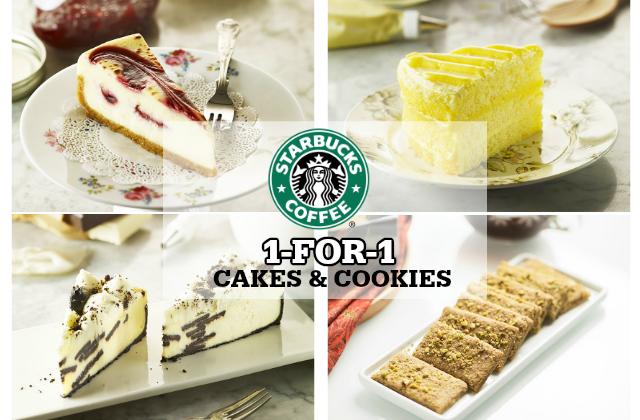 Starbucks Cakes Cookies