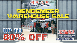 Audio House Bendemeer Warehouse Sale
