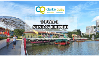 Clark Quay 1 for 1 Sunday Brunch