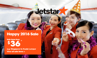 Jetstar Happy 2016 Sale