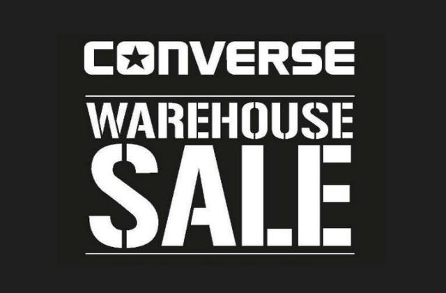 Converse Warehouse Sale 2016 New