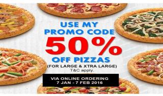 Domino 50 Pizza