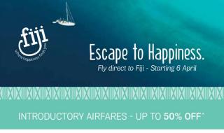 Fiji Airways Promotion