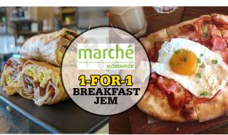 Marche 1 for 1 Breakfast JEM