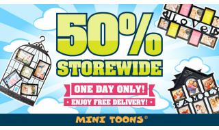 Mini Toons 50 Off Storewide