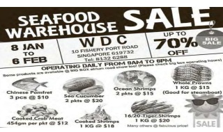 Pan Ocean Seafood Warehouse Sale