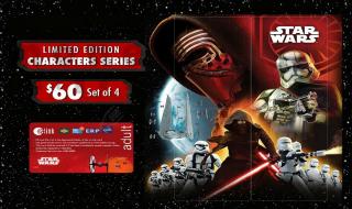 Star Wars EZ Link Card