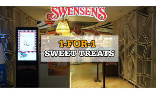 Swensens 1 for 1 Sweet Treats