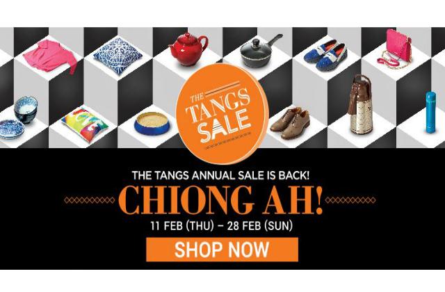 Tangs Annual Sale 11 Feb