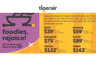 Tigerair Promo 12 Feb