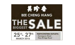 Bee Cheng Hiang Biggest Sale