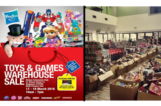 Hasbro Toys & Games Warehouse Sale